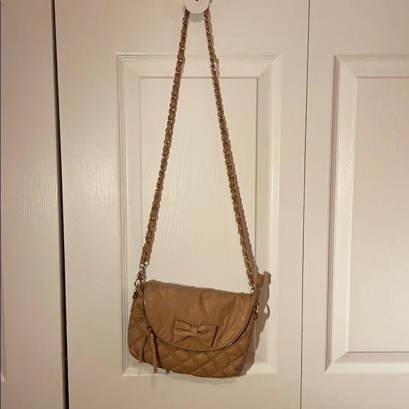 Brown over the shoulder purse